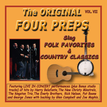The Four Preps - The Original Four Preps Sing Folk Favorites & Country Classics