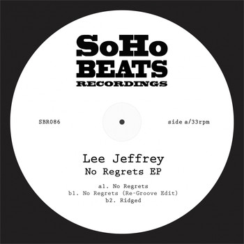 Lee Jeffrey - No Regrets EP