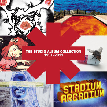 Red Hot Chili Peppers - The Studio Album Collection 1991 - 2011 (Explicit)