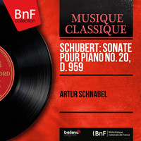 Artur Schnabel - Schubert: Sonate pour piano No. 20, D. 959