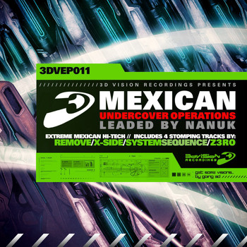 Vaious Artists - Mexican Undercover Operations (Leaded by Nanuk)