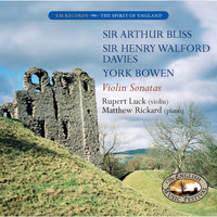 Rupert Luck and Matthew Rickard - Violin Sonatas