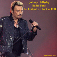 Johnny Hallyday - Johnny Hallyday et ses fans au Festival de Rock 'n' Roll