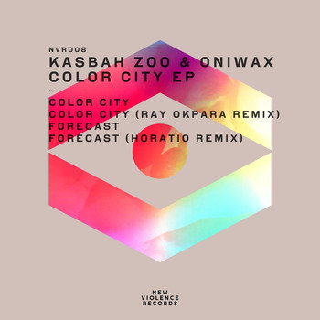 Kasbah Zoo & OniWax - Color City Ep