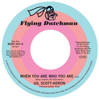 Gil Scott-Heron - When You Are Who You Are / Free Will (Alt Take 1)