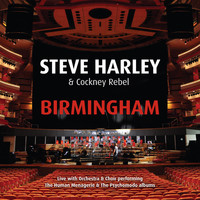 Steve Harley & Cockney Rebel - Birmingham - Live with Orchestra & Choir