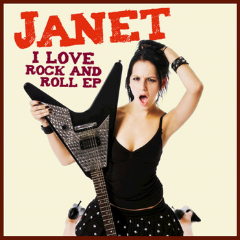 Janet - I Love Rock and Roll - EP