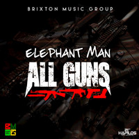 Elephant Man - All Guns - Single