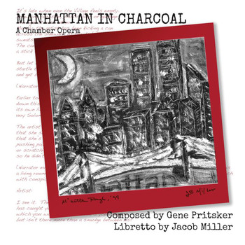 Jacob Miller - Pritsker: Manhattan in Charcoal