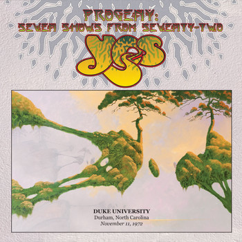 Yes - Live at Duke University, Durham, North Carolina, November 11, 1972