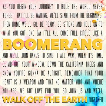 walk off the earth boomerang скачать