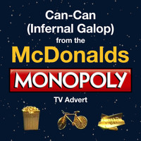 "Royal Philharmonic Orchestra - Can-Can (Infernal Galop) (From the McDonald's - ""Monopoly"" T.V. Advert)"