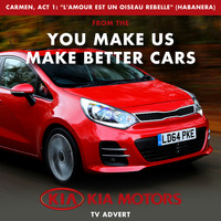 "Slovak Radio Symphony Orchestra - Carmen, Act 1: ""L'amour est un oiseau Rebelle"" Habanera (From The ""You Make Us Make Better Cars - Kia Motors Uk"" T.V. Advert)"