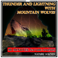 Nature Sounds - Thunder and Lightning with Mountain Wolves: 90 Minutes: Nature Sounds