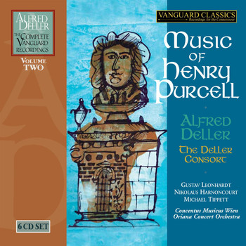 Alfred Deller & The Deller Consort - Music of Henry Purcell (The Complete Alfred Deller Vanguard Recordings, Volume 2)