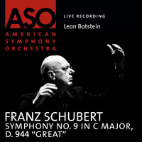 "American Symphony Orchestra - Schubert: Symphony No. 9 in C Major, D. 944 ""Great"""