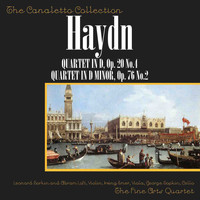 "Fine Arts Quartet - Franz Joseph Haydn: Quartet In D, Op. 20, No. 4/Quartet In D Minor, Op. 76, No. 4, ""Quinten"""
