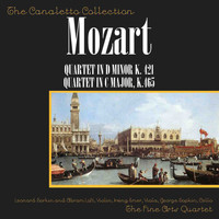 "Fine Arts Quartet - Wolfgang Amadeus Mozart: Quartet In D Minor, K. 421/Quartet In C Major, K. 465 ""Dissonant"""