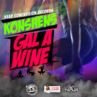 Konshens - Gal A Wine - Single