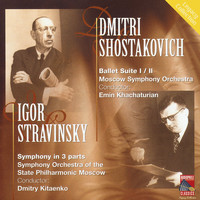 Moscow Symphony Orchestra - Shostakovich: Ballet Suites Nos. 1 & 2 - Stravinsky: Symphony in Three Movements