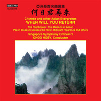 Singapore Symphony Orchestra - When Will You Return: Chinese & Other Asian Evergreens