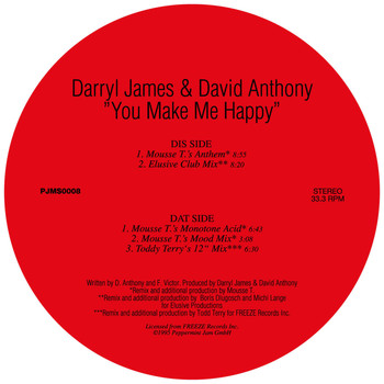 Darryl James & David Anthony - You Make Me Happy