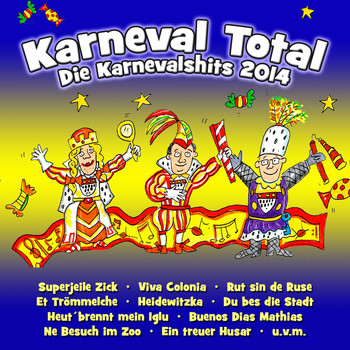 Various Artists - Karneval Total - Die Karnevalshits 2014