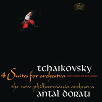 New Philharmonia Orchestra - Tchaikovsky: 4 Suites For Orchestra
