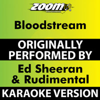 Zoom Karaoke - Bloodstream (Karaoke Version) [Originally Performed By Ed Sheeran & Rudimental]