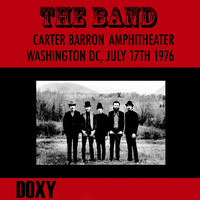 The Band - Carter Barron Amphitheater Washington DC, July 17th 1976