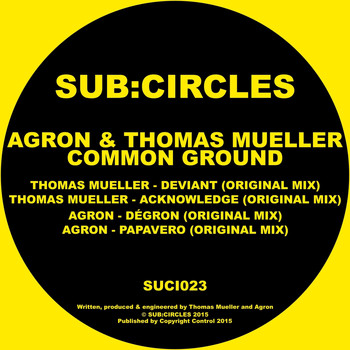 Agron & Thomas Mueller - Common Ground