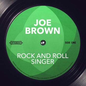 Joe Brown - Rock and Roll Singer