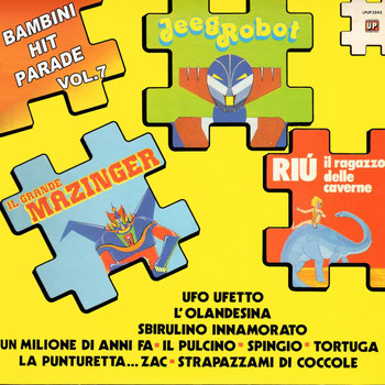 Various Artists - Bambini Hit Parade, Vol. 7: Il grande mazinger, jeeg robot