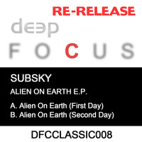 Subsky - Alien On Earth EP