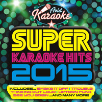 AVID Professional Karaoke - Super Karaoke Hits 2015 (Professional Backing Track Version)