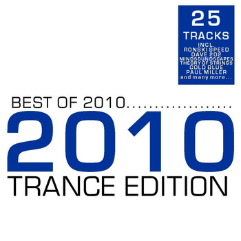 Various Artists - Best of 2010 - Trance Edition