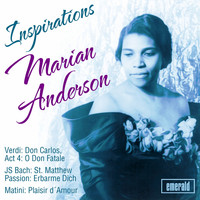Marian Anderson - Inspirations