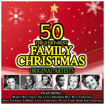 Various Artists - 50 of The Very Best Family Christmas