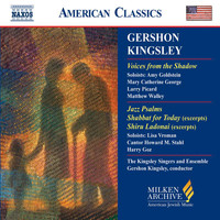 Gershon Kingsley - Kingsley: Voices From the Shadow / Jazz Psalms / Shabbat for Today