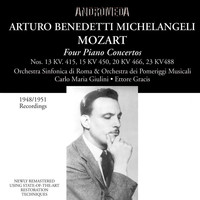 Arturo Benedetti Michelangeli - Mozart: Piano Concertos - Brahms: 28 Variations on a Theme by Paganini