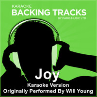 Paris Music - Joy (Originally Performed By Will Young) [Karaoke Version]