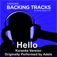 Paris Music - Hello (Originally Performed By Adele) [Karaoke Version]