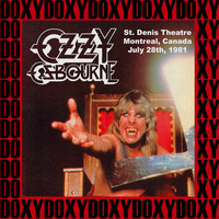 Ozzy Osbourne - St. Denis Theatre Montreal, Canada, July 28th, 1981