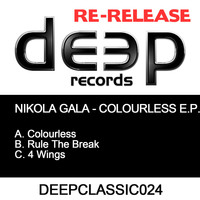Nikola Gala - Colourless EP