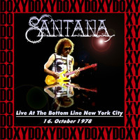 Carlos Santana - The Bottom Line, New York, October 16th, 1978