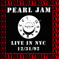 Pearl Jam - The Academy, New York, December 31st, 1992