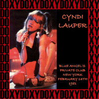 Cyndi Lauper - Blue Angel Private's Club, New York, February 14th, 1981