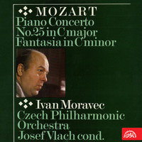 Ivan Moravec - Mozart: Piano Concerto No. 25 in C major, Fantasia in C minor