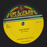 "Don Carlos - ""Black History""/Here I Come Again"