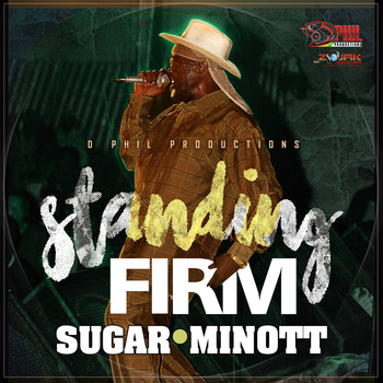 Sugar Minott - Standing Firm - Single